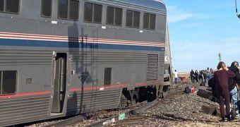 Tàu hỏa trật bánh ở Mỹ, ít nhất 53 người thương vong